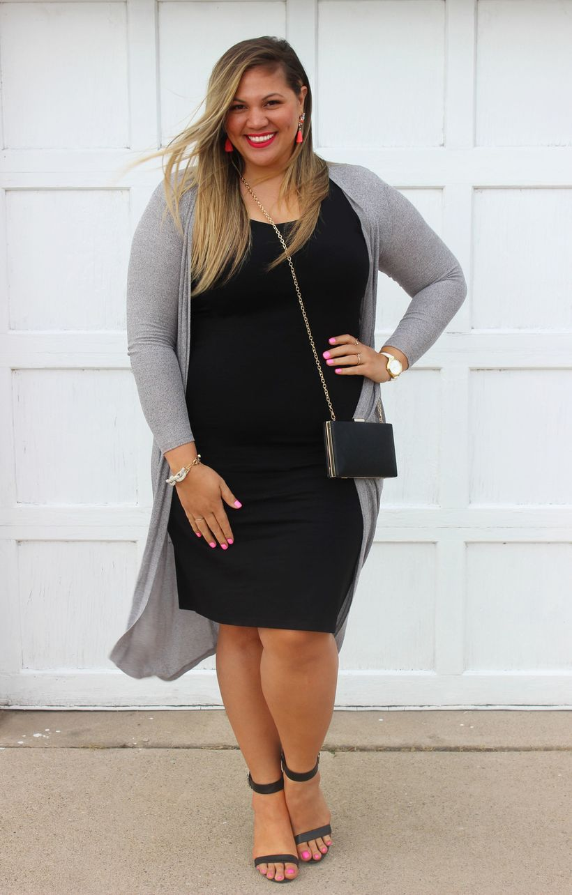 Stylish plus size outfits for winter 2017 89