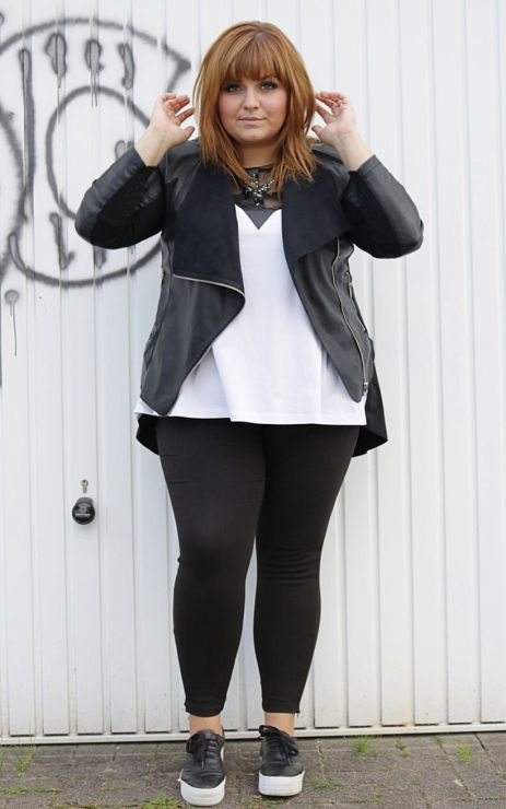 Stylish plus size outfits for winter 2017 9