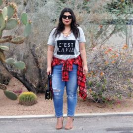 Stylish plus size outfits for winter 2017 96