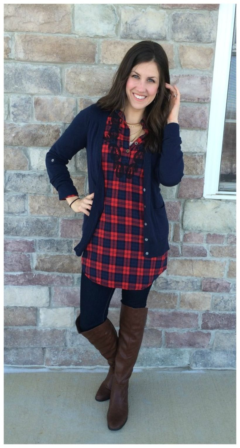 Tips how to wear cardigans and leggings in this fall 55