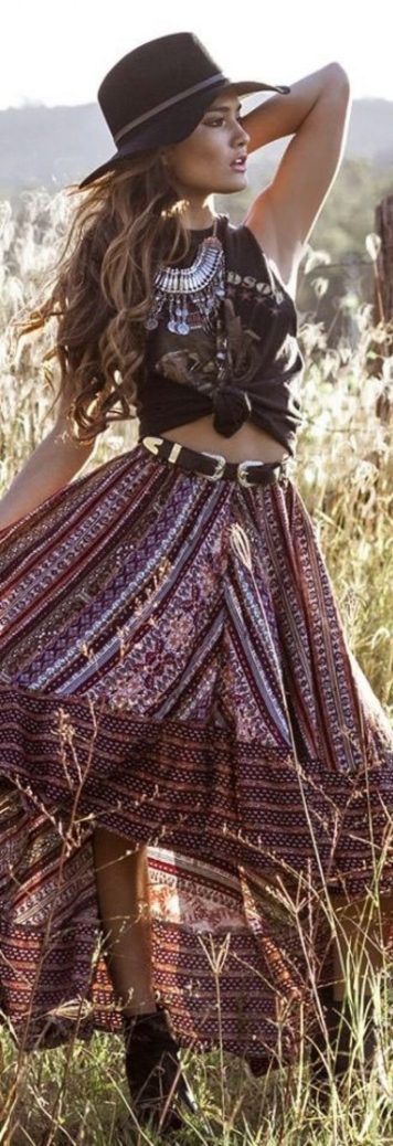 Vintage chic fashion outfits ideas 12
