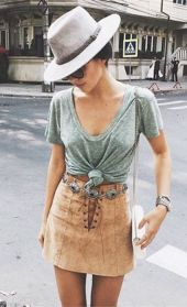 Vintage chic fashion outfits ideas 22