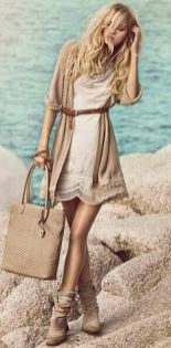 Vintage chic fashion outfits ideas 35