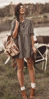 Vintage chic fashion outfits ideas 42