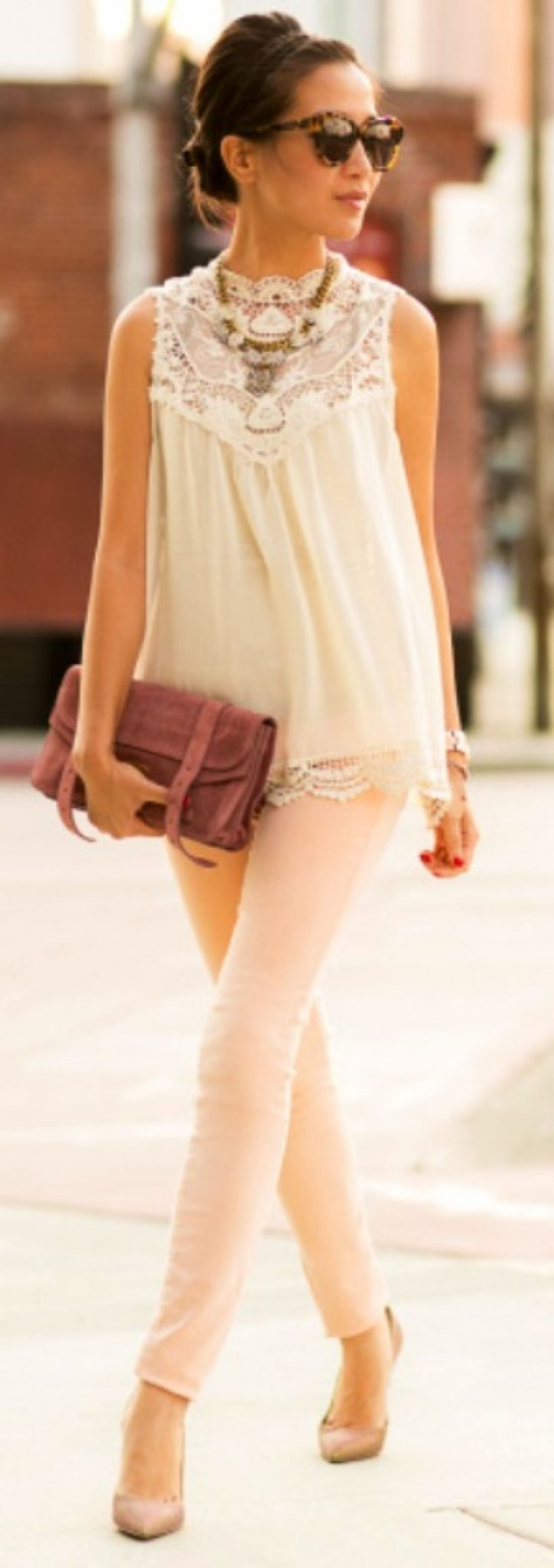 Vintage chic fashion outfits ideas 50