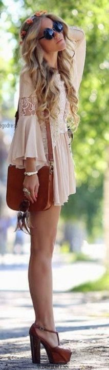 Vintage chic fashion outfits ideas 87