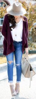 Cardigan outfit 11