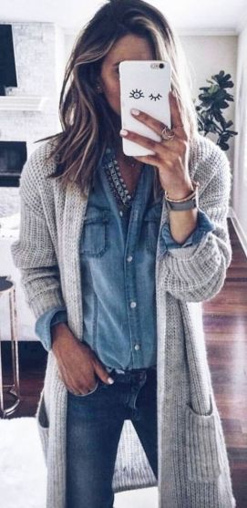 Cardigan outfit 19