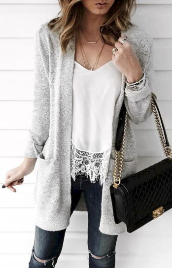 Cardigan outfit 58