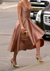 Formal midi dresses outfits 02