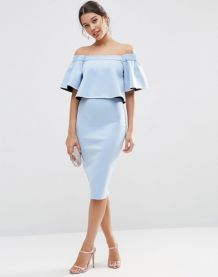 Formal midi dresses outfits 10