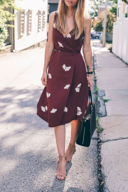 Formal midi dresses outfits 13