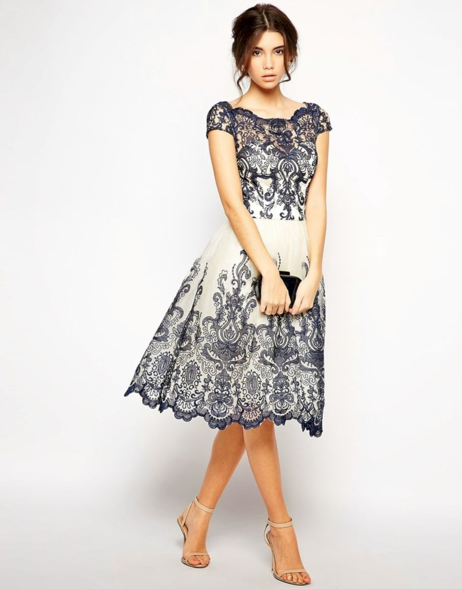 Formal midi dresses outfits 24