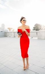 Formal midi dresses outfits 27