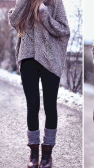 Outfits with leggings 22