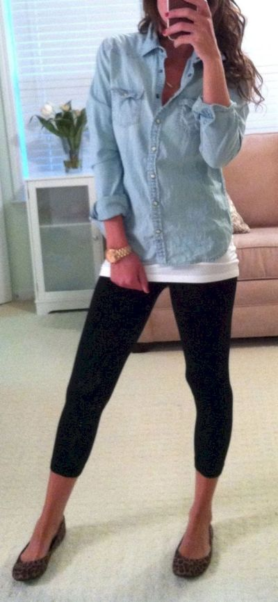 Outfits with leggings 58