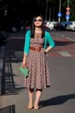 Polkadot short dress 26