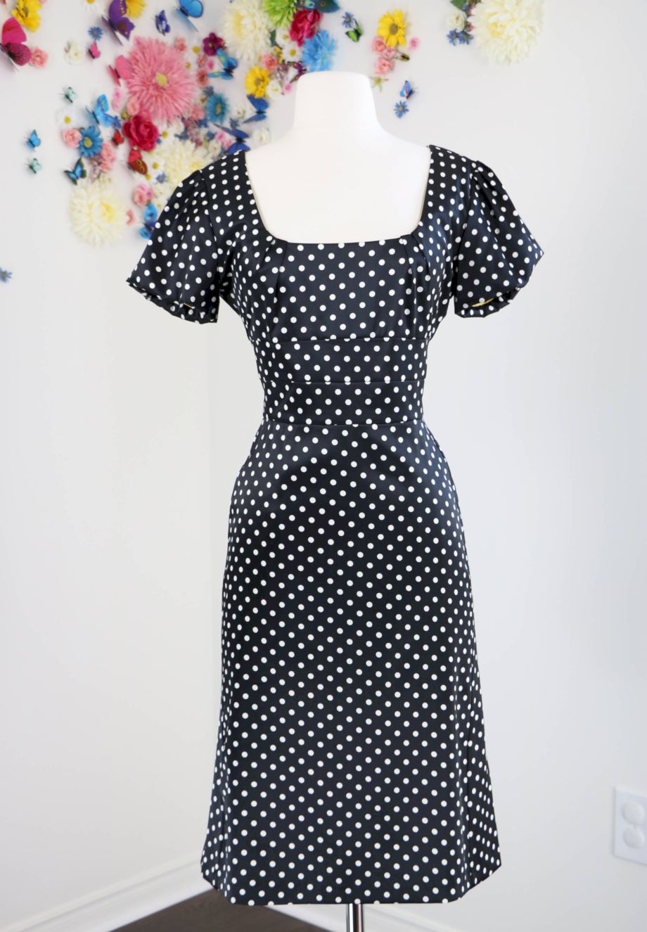 Polkadot short dress 42