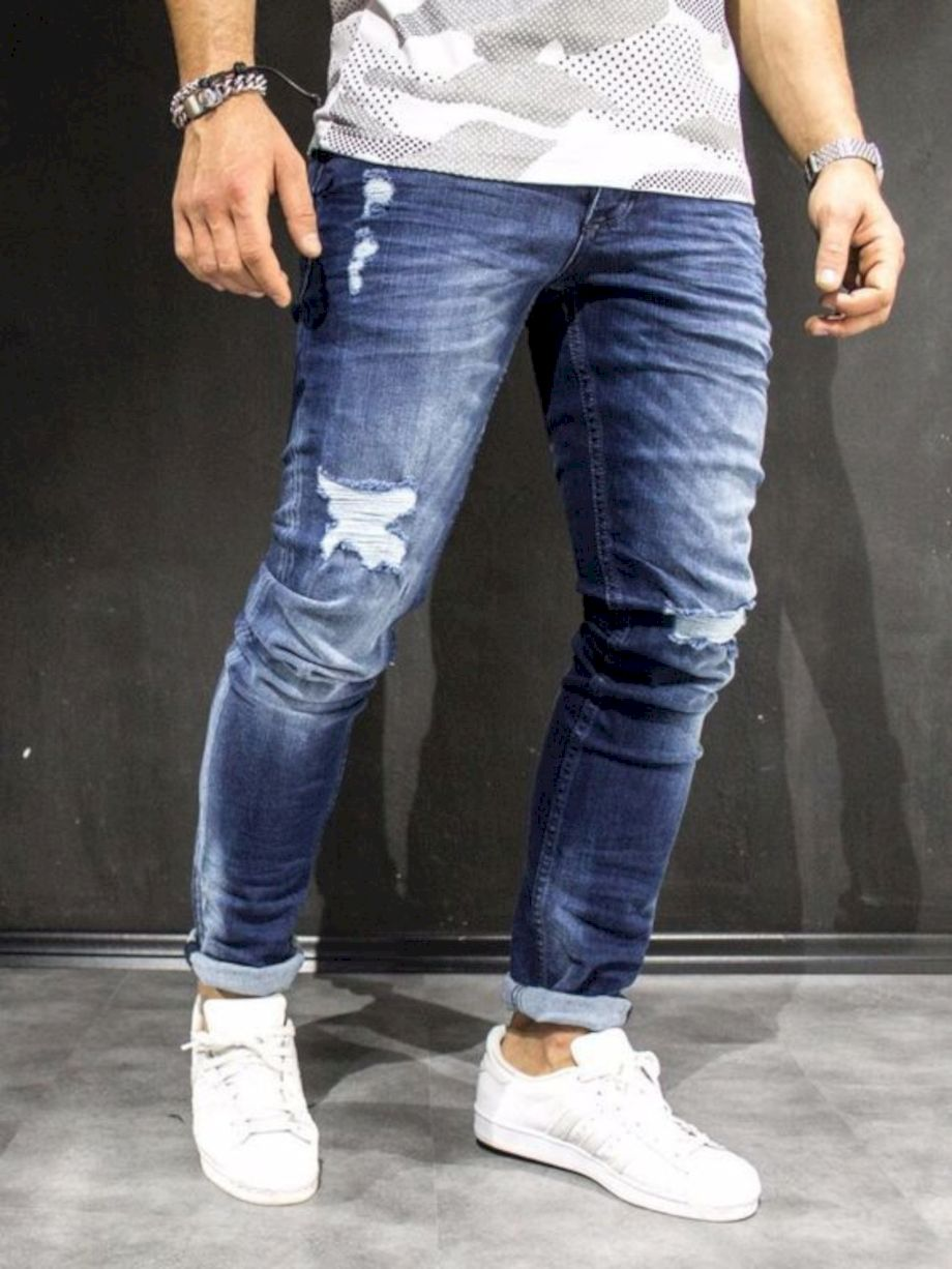 Ripped jeans for men 37