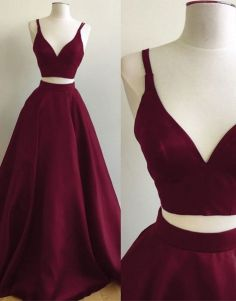 Two pieces dress that make you look fabulous 24