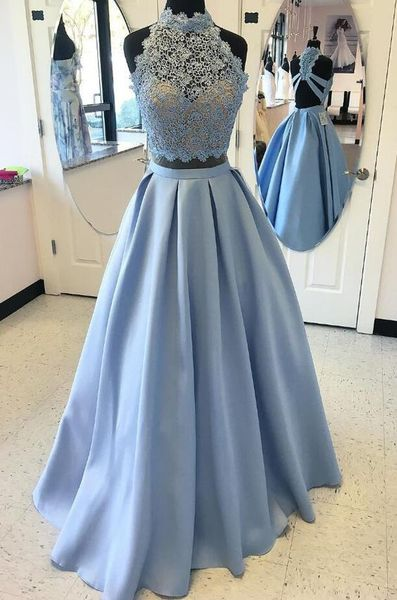 Two pieces dress that make you look fabulous 49