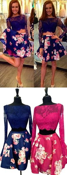 Two pieces dress that make you look fabulous 7