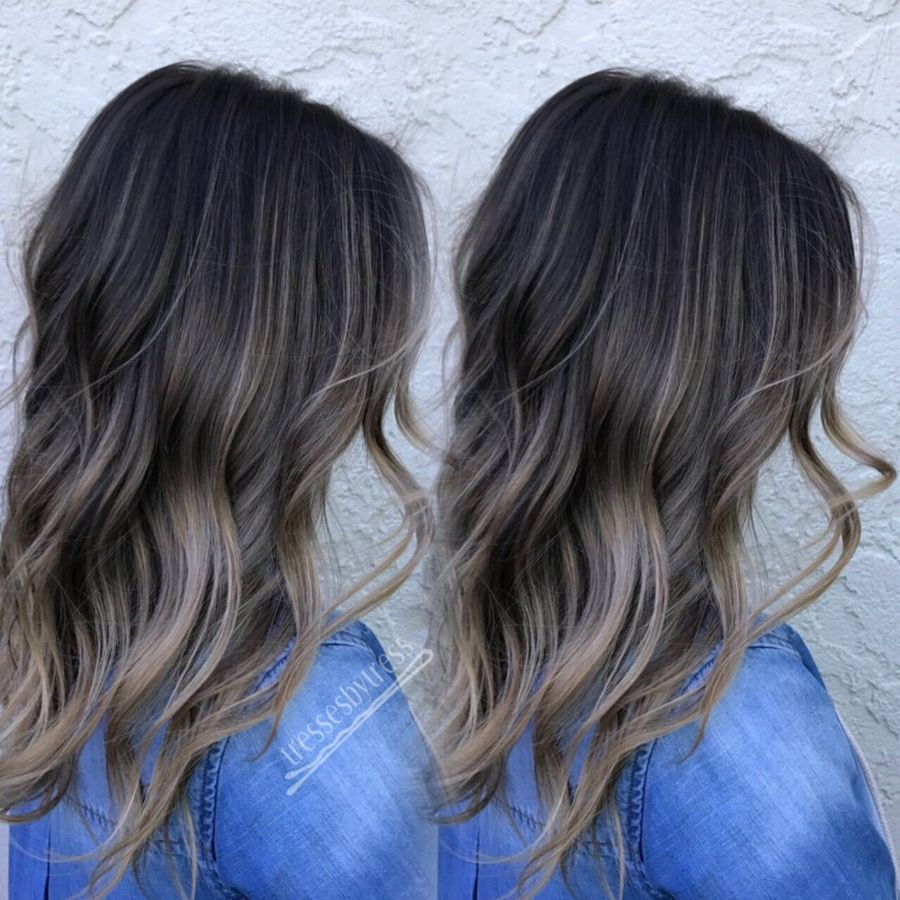 Inspiring haircolor style for winter and fall 2