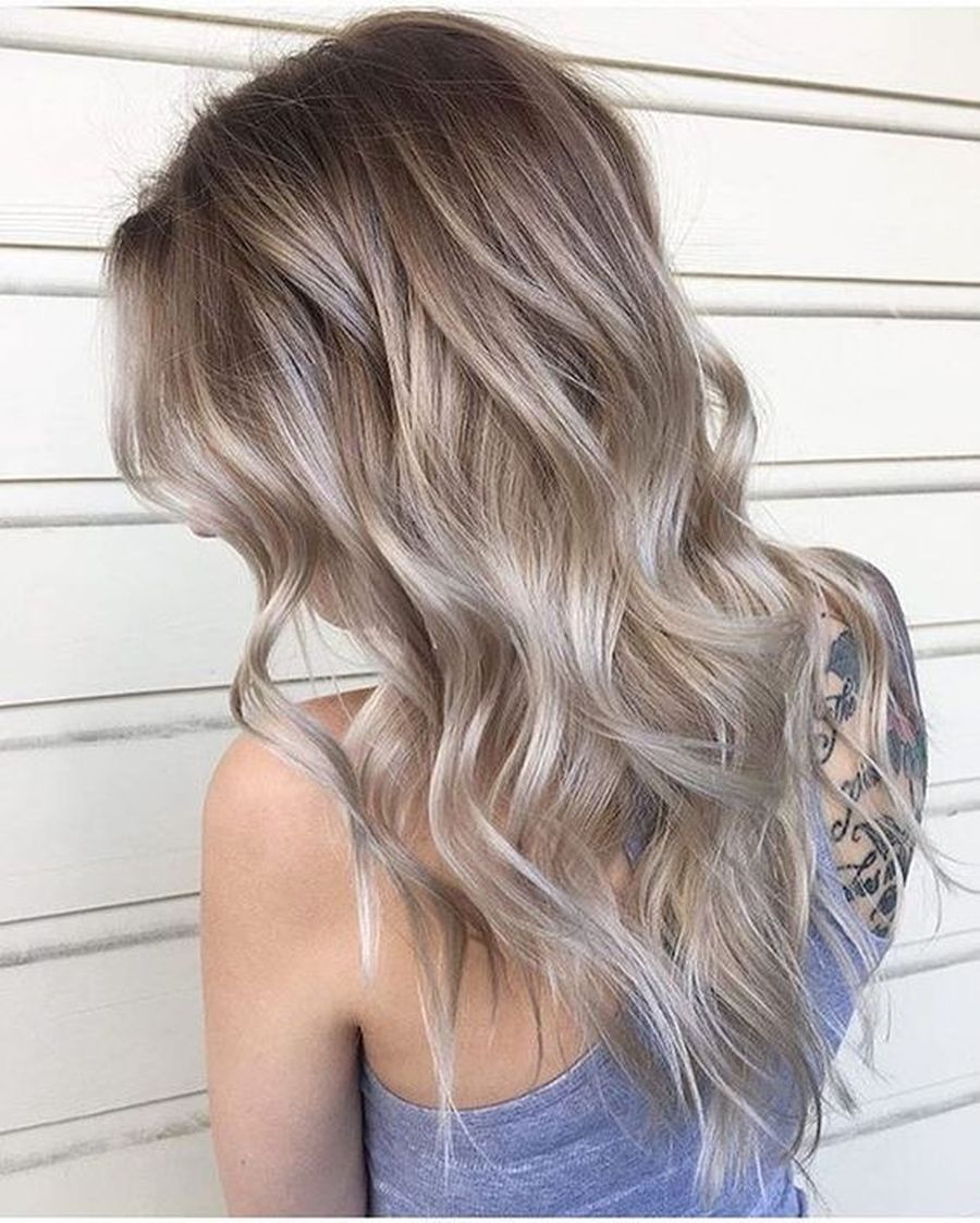 Inspiring haircolor style for winter and fall 40