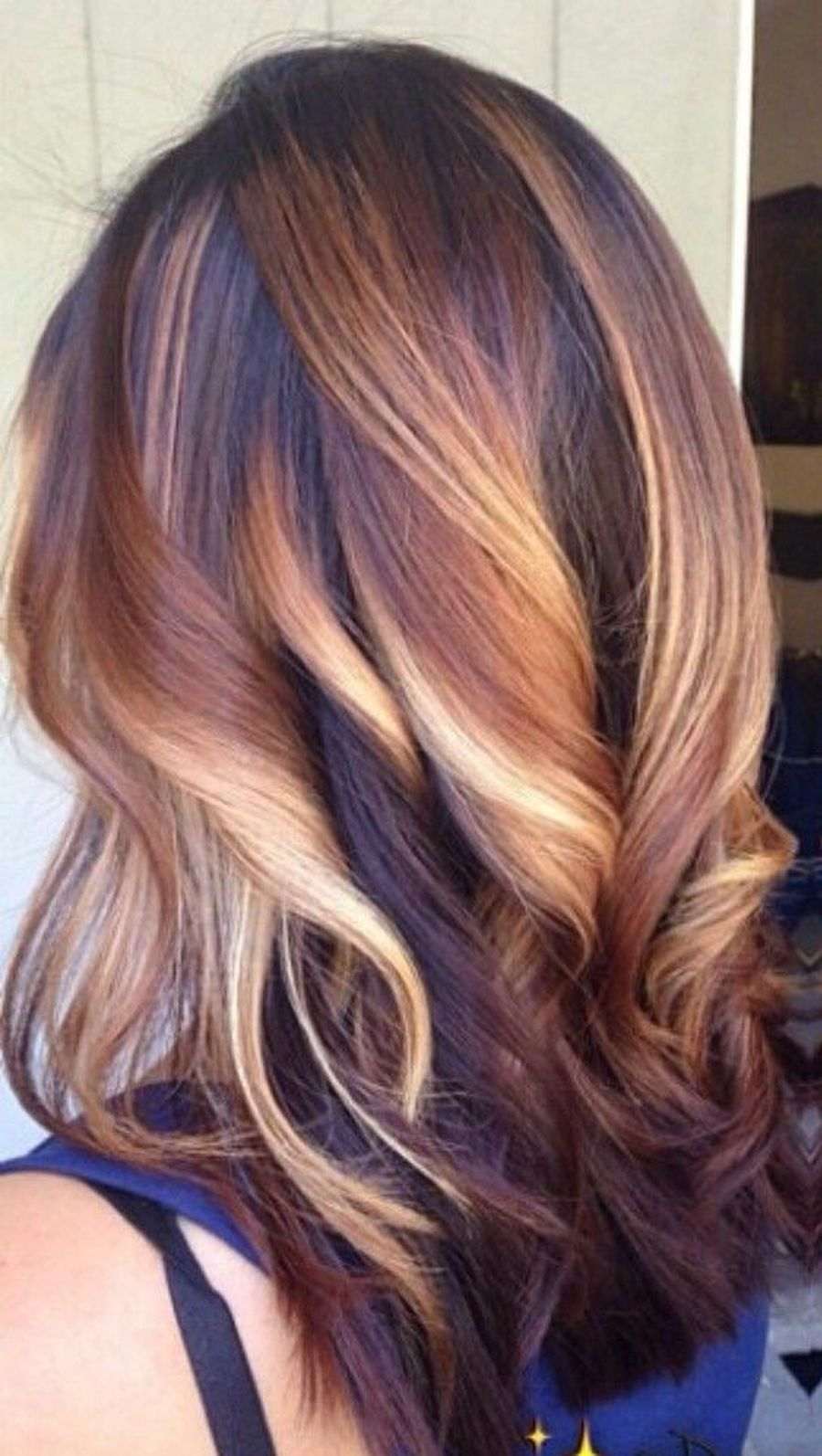 Inspiring haircolor style for winter and fall 44