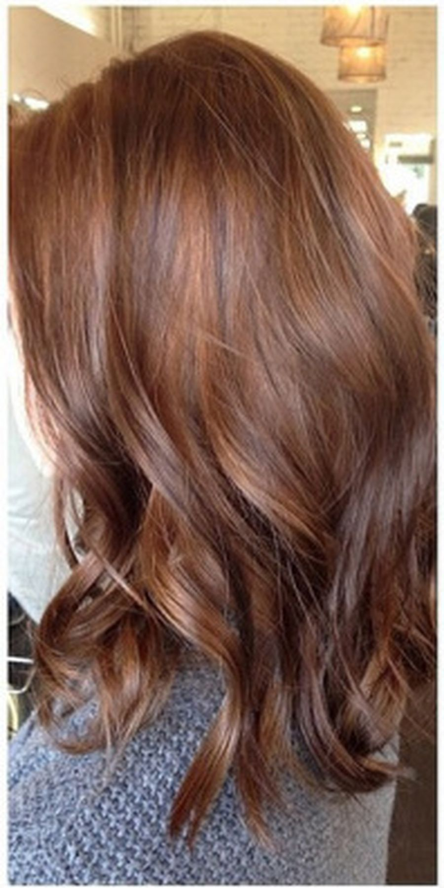 Inspiring haircolor style for winter and fall 46