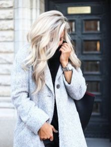Inspiring haircolor style for winter and fall 60
