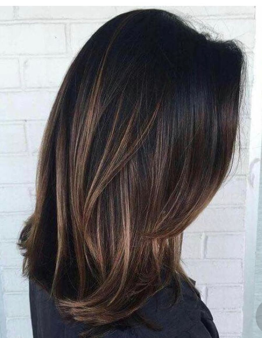 Inspiring haircolor style for winter and fall 8
