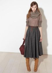 Skirt trends ideas for winter outfits this year 1