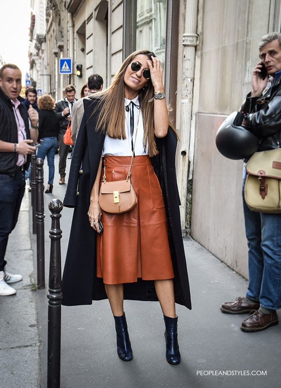 Skirt trends ideas for winter outfits this year 10