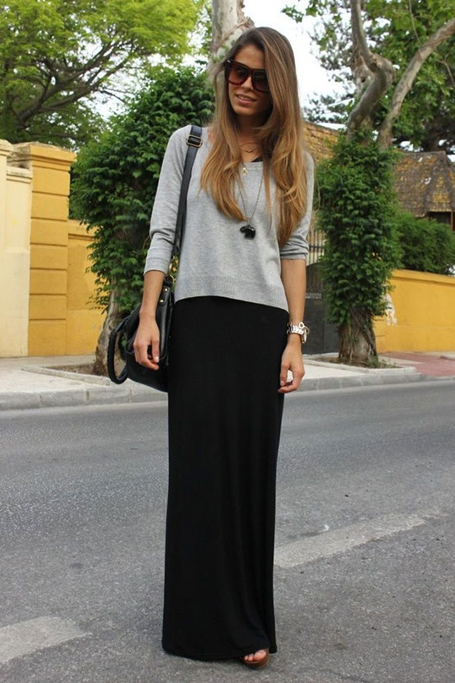 Skirt trends ideas for winter outfits this year 14