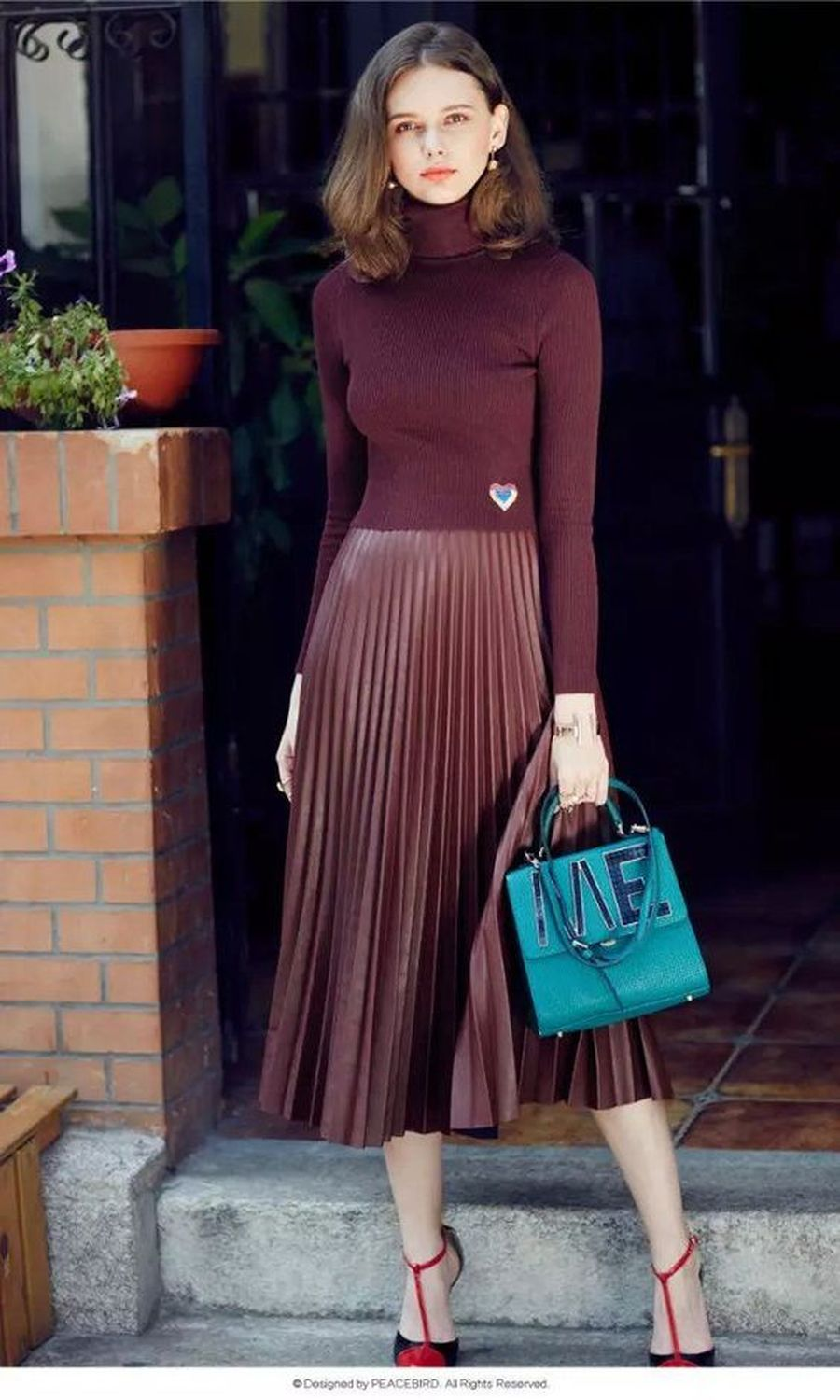 Skirt trends ideas for winter outfits this year 3