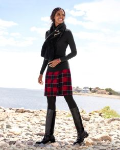 Skirt trends ideas for winter outfits this year 36