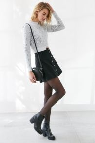 Skirt trends ideas for winter outfits this year 37