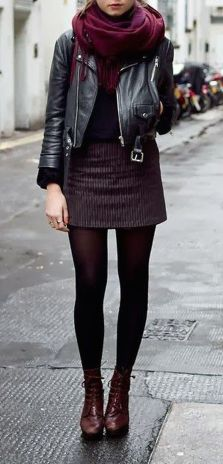 Skirt trends ideas for winter outfits this year 40