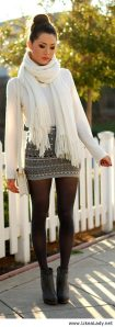 Skirt trends ideas for winter outfits this year 50