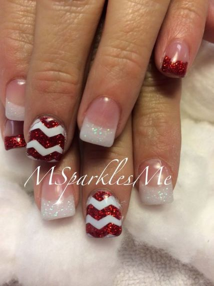 Cool holiday nails arts 34