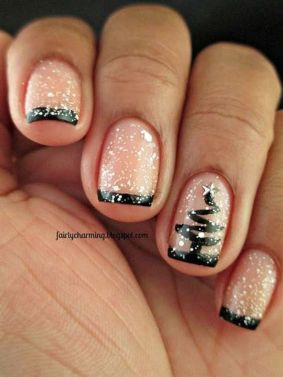 Cool holiday nails arts 57