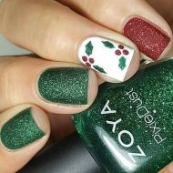 Cool holiday nails arts 58