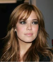 Cool hair style with feathered bangs ideas 18