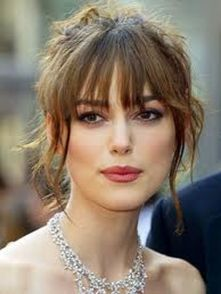 Cool hair style with feathered bangs ideas 48
