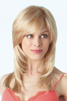 Cool hair style with feathered bangs ideas 49