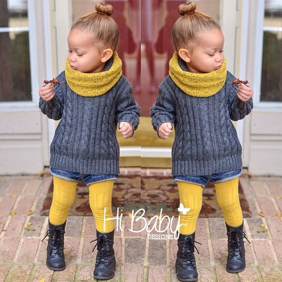 Cute kids fashions outfits for fall and winter 23