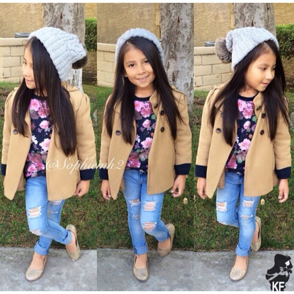 Cute kids fashions outfits for fall and winter 26