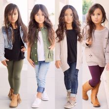 Cute kids fashions outfits for fall and winter 52