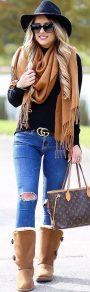 Fashionable women hats for winter and snow outfits 74